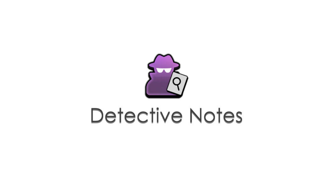 Detective nNote Logo & Title